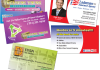 design a business card for your company, product, or service