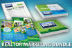 design a real estate marketing package for you