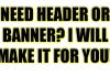 make a youtube/website banner