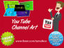 create a YouTube channel art