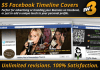 design a professional quality FACEBOOK timeline cover in 48 hours