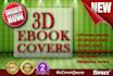 design professional 3D eBook Cover