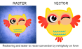 redraw and vectorize your graphic,photo or sketch to vector
