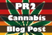 add your product, article or website to my PR0 Cannabis blog