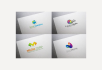 design 5 different concept logo