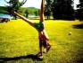 teach you how to do a cartwheel