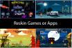 reskin game or reskin app