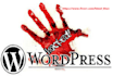 remove malware from wordpress and fix bug
