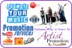 make you viral Artist or Music Promotion
