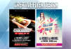 design creative flyer and poster