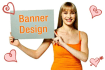 make creative and professional website headers/banners within 48hrs