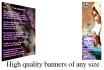 create a high quality banner