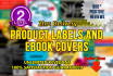 do professional product labels and covers