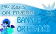 design wonderful banner or header