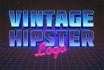 design a vintage hipster logo