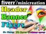 create High Quality WORDPRESS Header,Banner,Webheader,Flyers