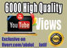 send 10000 fast and Safe Youtube views