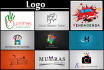create any type of logo design 2D and 3D