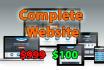 complete website worth 999 dollars