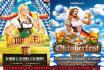 design Stunning Beer,Oktoberfest flyer poster