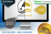 vectorise your low resolution logo or flat picture