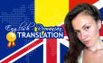 translate any text from English to Romanian and viceversa