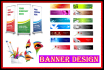 design Professional and Attractive banner