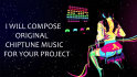 compose original chiptune music for your project