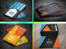 design Metro Style Business Card