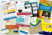 design an awesome business card, flyer, banner, or brochure