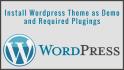 install and Setup Wordpres Theme Exactly as Demo
