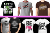 design awesome T SHIRT under 24 hours