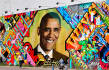 make 10 graffiti on wall and billboards