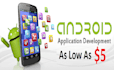 develop android app for you instantly