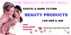 create a beauty buffet mall themed ecommerce site