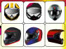 do a perfect match helmet sticker design