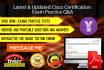 provide any Cisco exam latest practice QA
