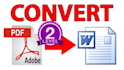 convert your PDF to Word file