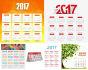 do professional full page or desk calendar design