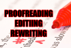 proofread, edit or rewrite your document