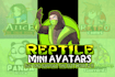 illustrate quick amazing avatars Logo express