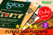 create Amazing Flyers and Posters
