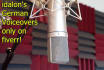 record a professional male German voice over