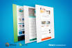 create you a responsive email NEWSLETTER for your business or personal use