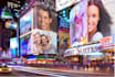 put your logo or photo on 30 BILLBOARDS at famous places virtually