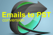 convert your email files to PST format