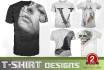 create a professional eye catching t shirt design