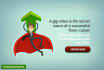 create a stunning fiverr gig video to promote your gig