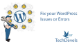 fix your WordPress Issue or Error