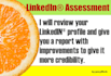review your LinkedIN profile and recommend improvements to strengthen it